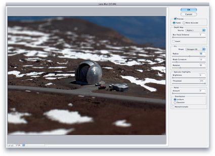 How to use Photoshop's Lens Blur tool for tilt-shift fakery