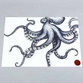 octopus-print-cream-cornwall-maritime