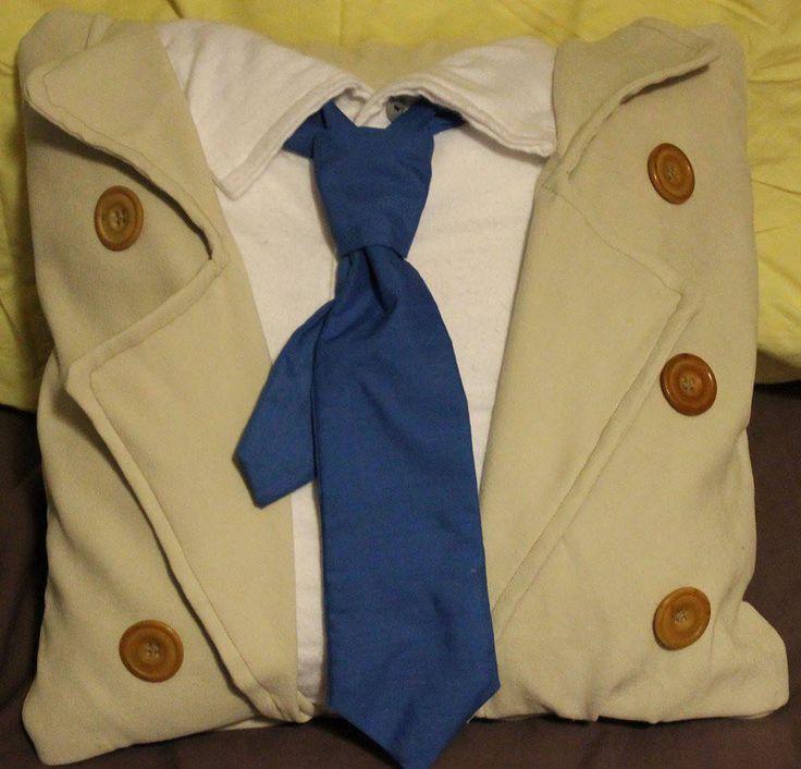 Castiel's coat  I need this pillow!