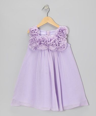 e9c46e0acd84 Take a look at this Lilac Rosette Dress - Toddler & Girls by Sophia Young  on #zulily today! | kid clothes | Toddler girl dresses, Baby girl dresses,  ...