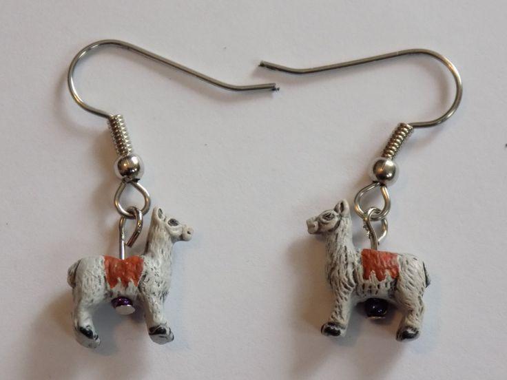 Llama Earrings - Camel Earrings