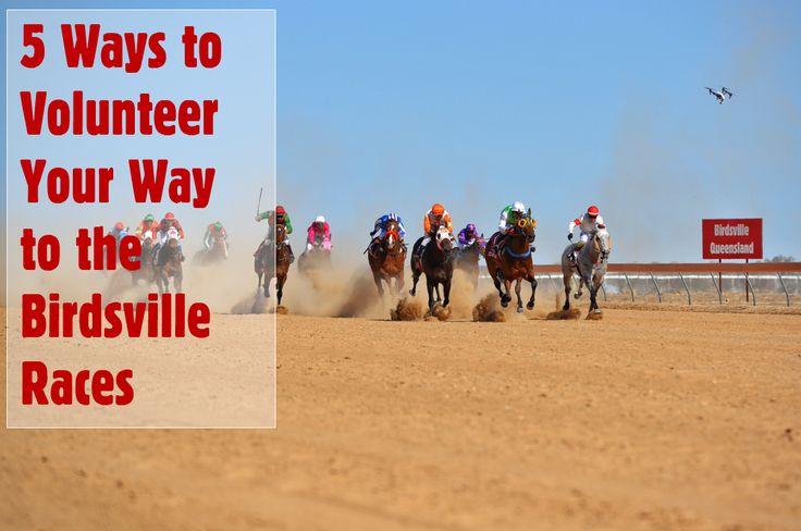 5 WAYS TO VOLUNTEER YOUR WAY TO THE BIRDSVILLE RACES