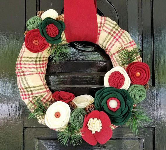 how to make a wreath form