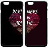 Cheap Cute Bff Best Friends Partners in Crime Couples Matching Cell Phone Cases (For iphone 6 Plus 5.5 Inch/ipod touch 5) deals week