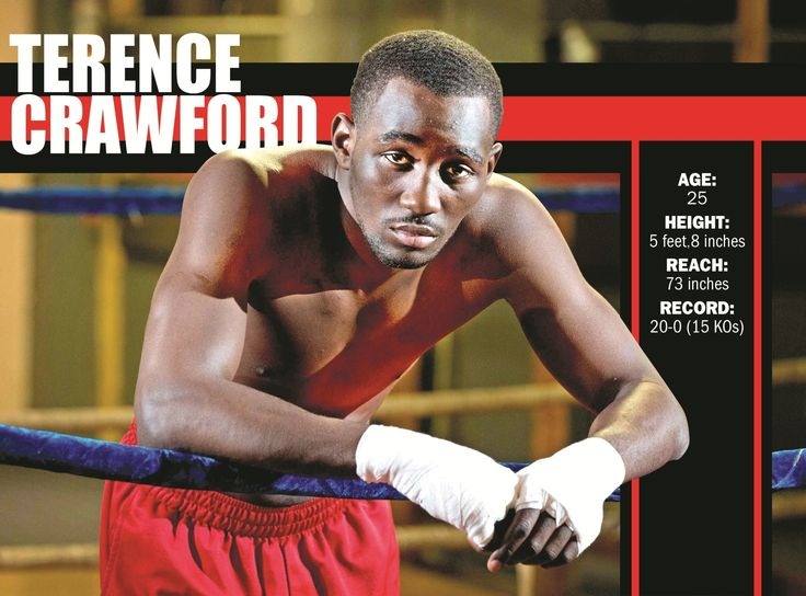 Junior welterweight world titleholder Terence Crawford
