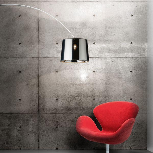 Dorsale lampada da terra - Ideal Lux - Terra - Progetti in Luce