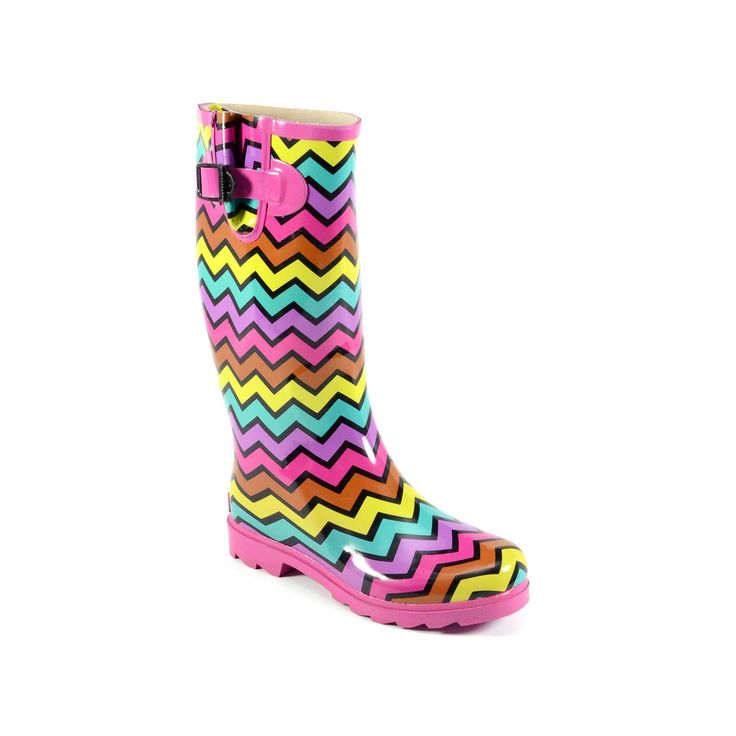 Corkys Sunshine Women's Rain Boots, Size: 10, Pink