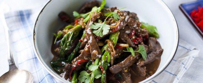 Rundvlees chinese stijl met Aziatische groenten - Irishbeef