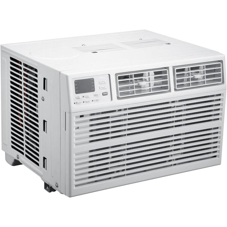 TCL Energy Star 10,000 BTU Window Air Conditioner with Remote, White