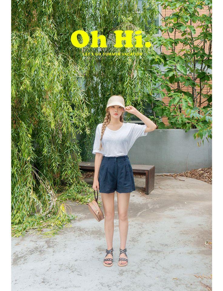 Til That Day Shorts   Korean Fashion