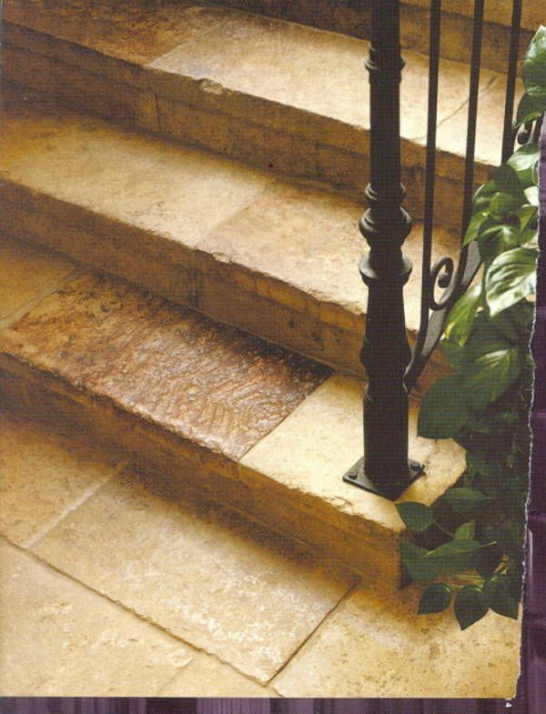 Antique Reclaimed Bourgogne Limestone Pavers U0026 Stair Treads Risers, Paris  Ceramics | Tile U0026 Stone | Pinterest