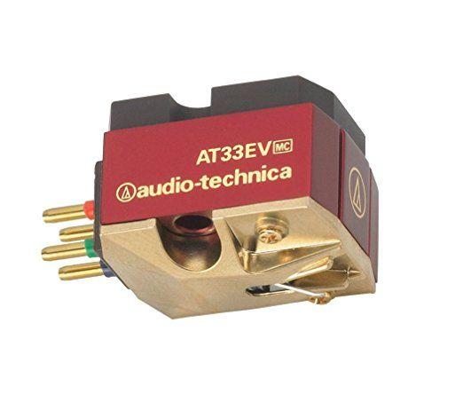 Audio Technica AT33EV Tonabnehmer MC type