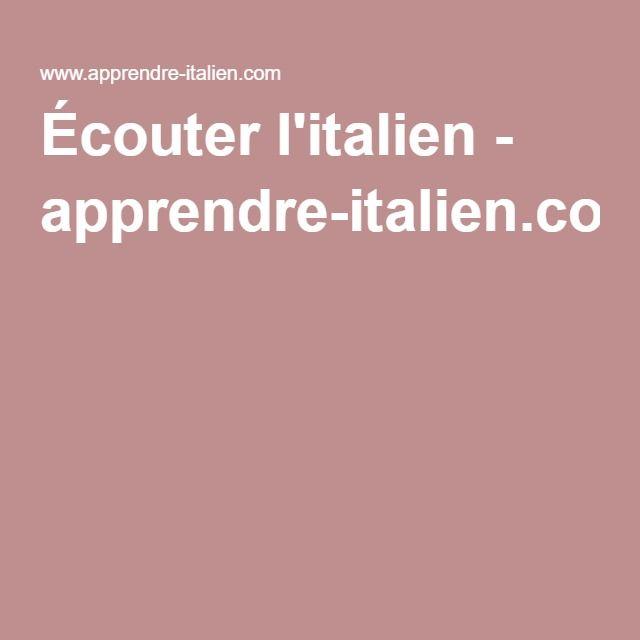 17 meilleures id es propos de apprendre l 39 italien sur for Apprendre la cuisine italienne