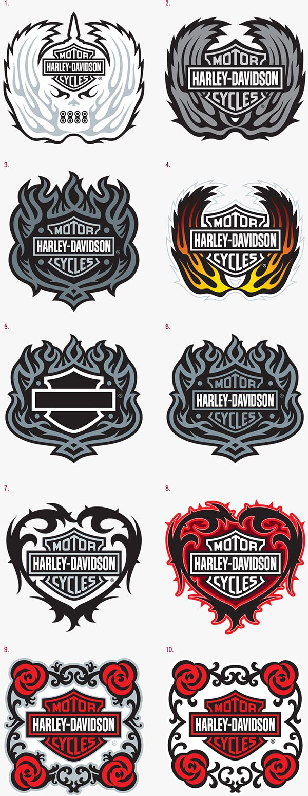 Harley-Davidson Emblems on Behance