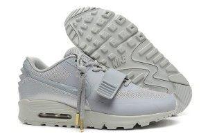 Prezzi bassi scarpe da corsa nike uomo air max 90 yeezy 2 grigio offerta italia 2015
