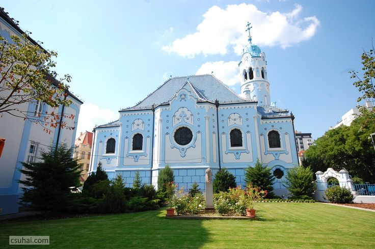 https://flic.kr/p/o9R6m9 | The Beautiful Hungarian Art Nouveau (16) - St Elizabeth (The Blue) Church in Bratislava | Designed by Ödön Lechner, leading representative of Hungarian Secession, raised in Pozsony/Pressburg/Bratislava between 1907-13.