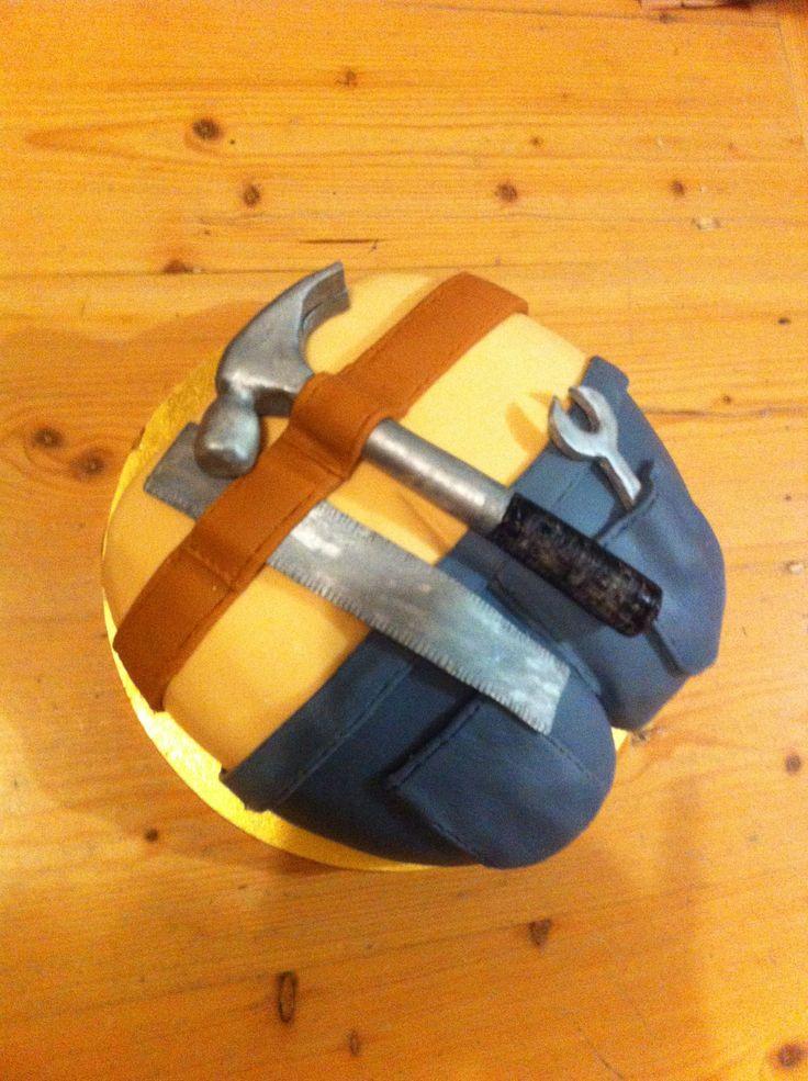 Plumbers crack cake - HB Luke !