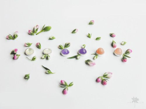 Jade-Lillie gemstone earrings