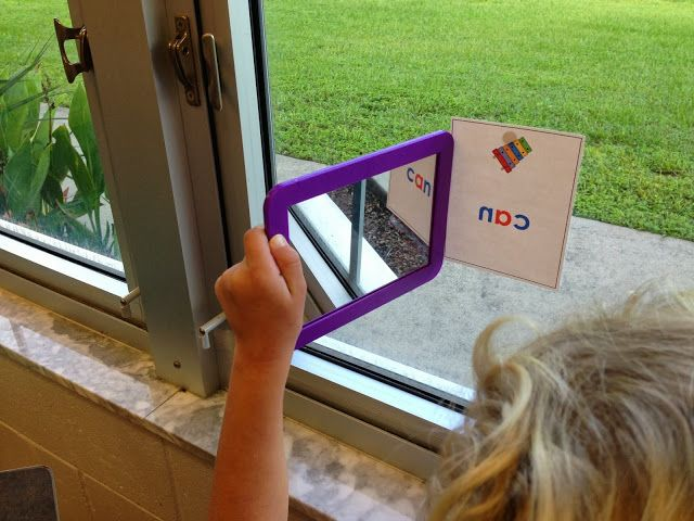Mirror, Mirror on the Wall: My students LOVE this fun word-wall hunt. It's played with a partner. Read more at this blog post. (Creating Readers and Writers) #wordwall #sightwords #spelling