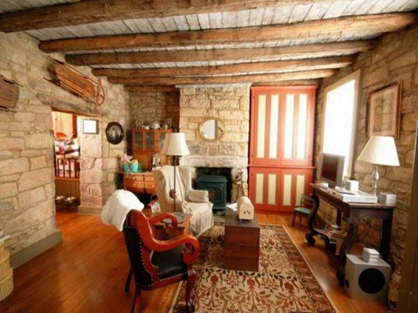 62 besten wohnideen bilder auf pinterest | wohnideen, blockhäuser ... - Wohnzimmer Rustikal Gestalten