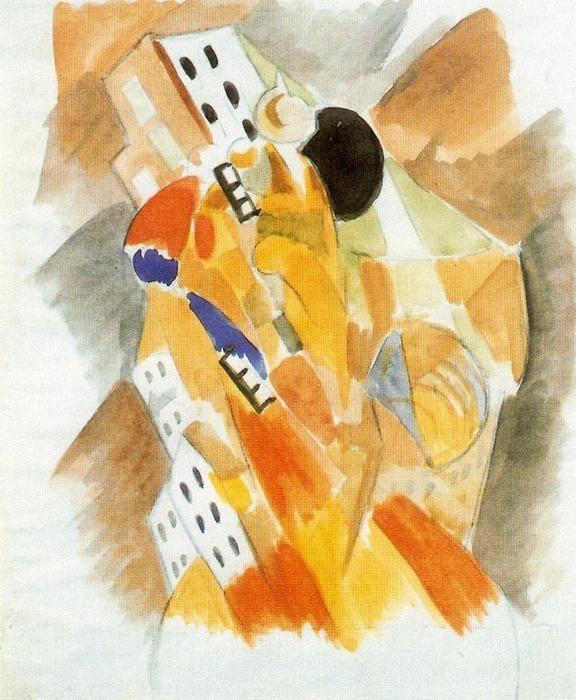 """""""El Picador"""" by Rafael Barradas (1890-1929, Uruguay)"""