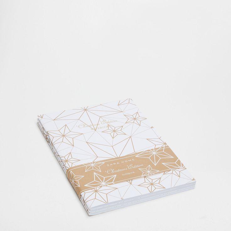Papieren schriften met geometrische motieven (set van 3) - Tot € 35.99 - Geschenken   Zara Home België / Belgique