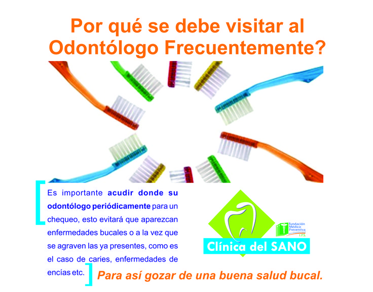 Porque visitar a tu odontologo de manera frecuente ?