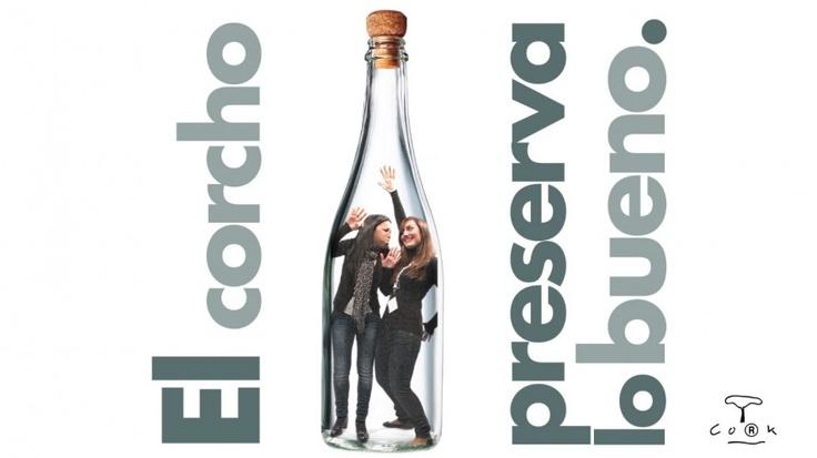 ¡Preservando lo bueno en Madrid Fusión! Y tú, ¿tienes ya tu foto? Recuerda, el corcho #preservalobueno ;) #Cork #MFM13