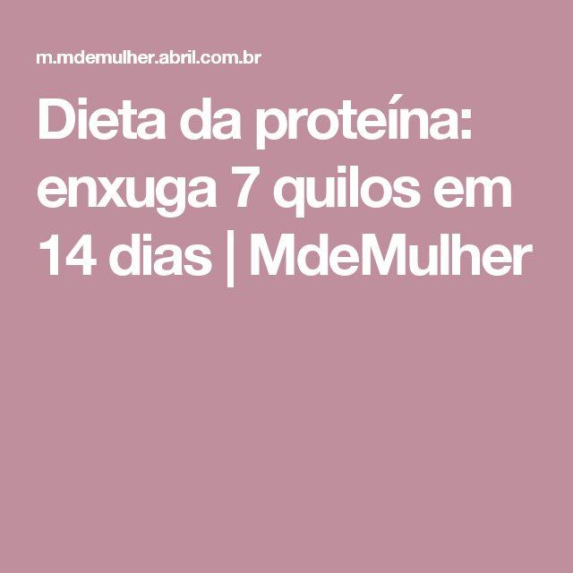 Dieta da proteína: enxuga 7 quilos em 14 dias | MdeMulher