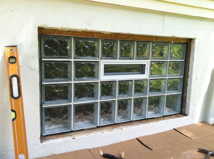 This Basement Window Customer Wanted His Window Installed Using Our  Aluminum Wrap Procedure. This Is. Replacement ...