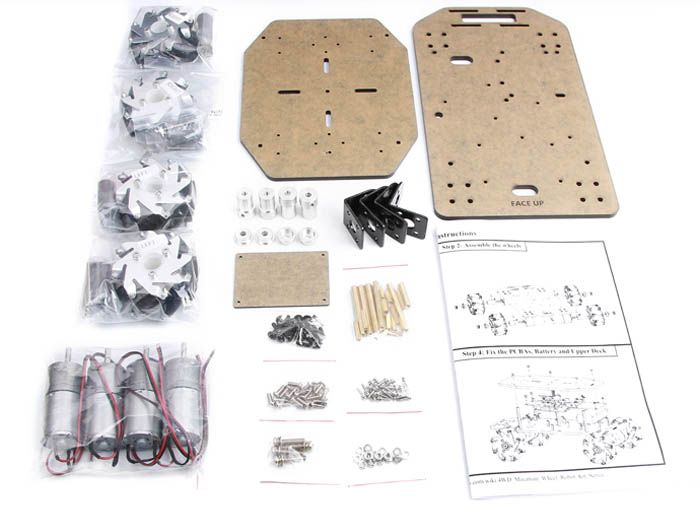 4WD Mecanum Wheel Robot Kit