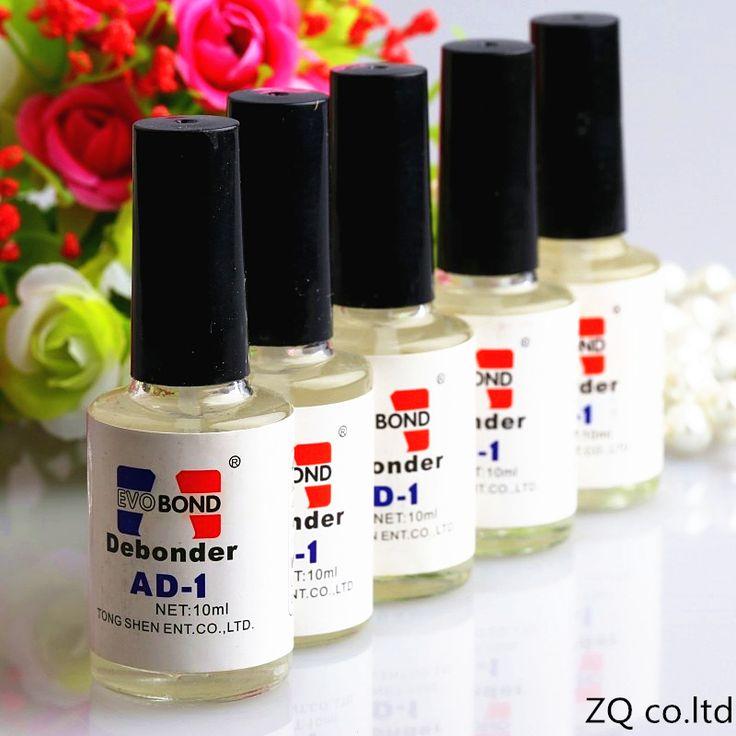 Hot 2017 Pro 10ml Individual False Eyelash Adhesive Glue Remover Liquid Debonder Nail Glue Remover Hot Sale