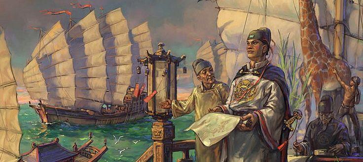 Admiral Zheng He.  6th Voyage (1421–1422) - Hormuz, East Africa, countries of the Arabian Peninsula    7th Voyage (1430–1433) - Champa, Java, Palembang, Malacca, Sumatra, Ceylon, Calicut, Hormuz (17 states in total).
