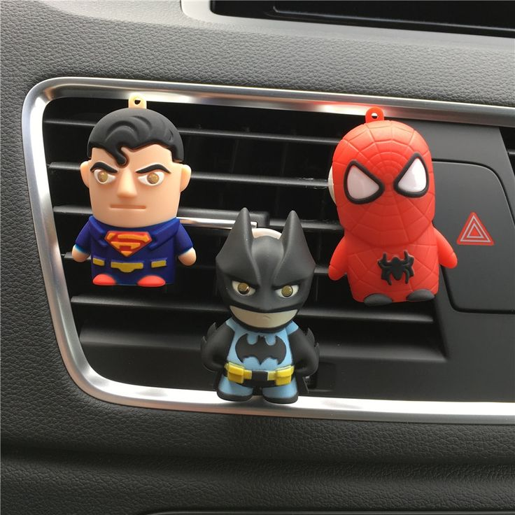 0.91$  Buy now - http://alimnv.shopchina.info/go.php?t=32759787861 - dower me Batman Superman Car styling Air Freshener Perfume Cute doll car perfume Automobile air conditioner clamp  Perfumes  0.91$ #magazineonline