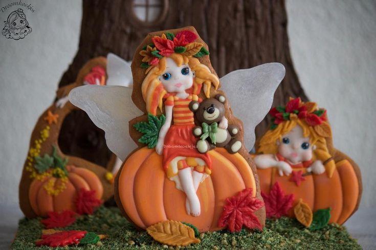 A little fairy tail / autumn fairy cookies / feeen herfst koekjes