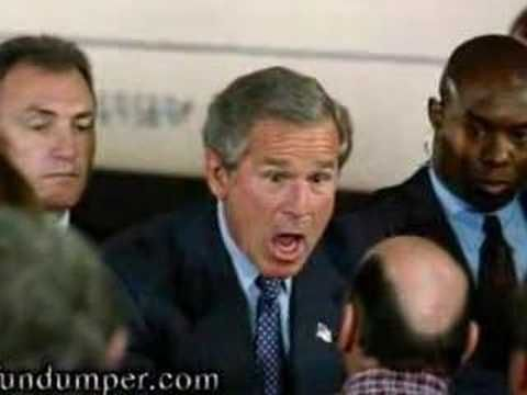 Before a Bush Speech, this happens...stupid $!#% The Iraq invasion. Regime Change.
