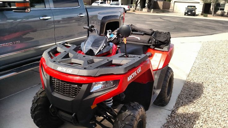 Used 2015 Arctic Cat 500 4X4 AUTOMATIC ATVs For Sale in Arizona. XR500 EFI 2015 Arctic Cat Like new excellent condition only 7 miles. $5900.00 OBO (Located in Casa Grande, AZ).  Street Legal, automatic 4 stroke. Clear title (cash only)