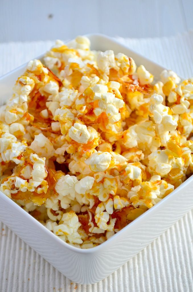 Salty Caramel Popcorn #popcorn #saltycaramel #food#recipes