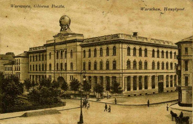 Main Post Office, 1916