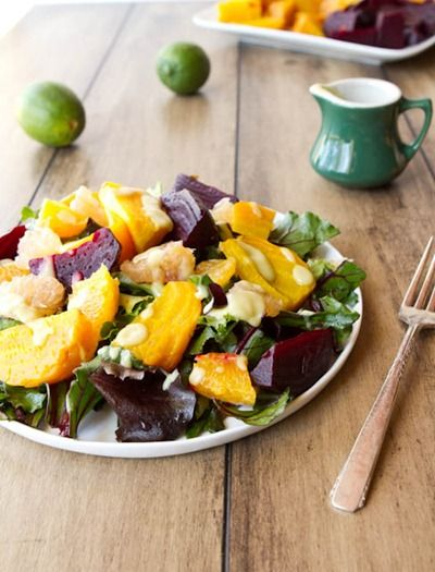 sweet beet salad for the new yearAvocado Limes Dresses, Beets Salad, Creamy Avocado, Healthy Beets Recipe, Beet Salad, Citrus Dresses, Citrus Salad, Avocado Dresses, Citrus Beets
