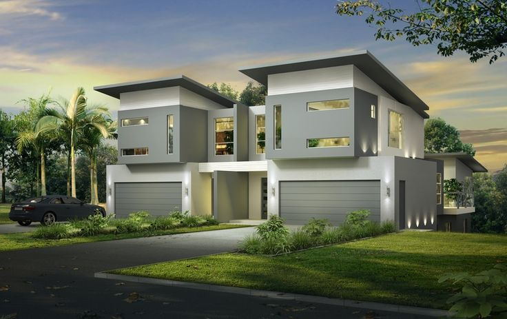 3D Rendering of a Duplex for marketing purposes - Ocean Grove Vic