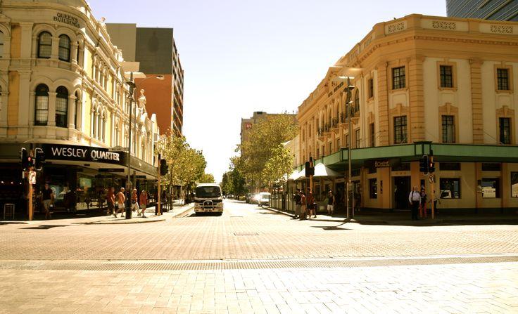 Perth City, Wa, Australia