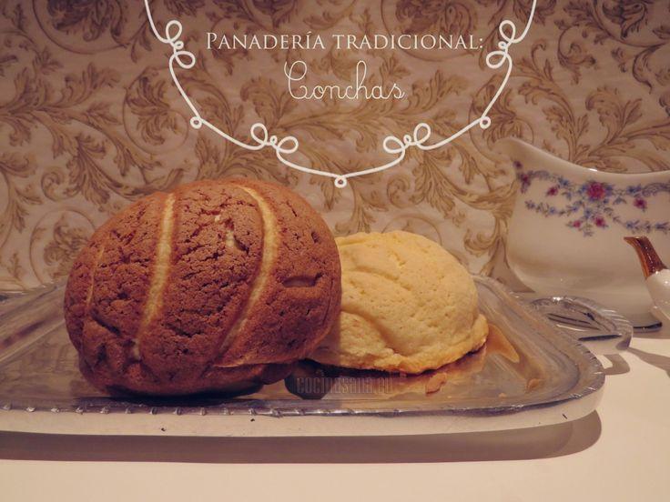 Tradicionales de la panadería Mexicana: Conchas on http://www.cocinasana.eu