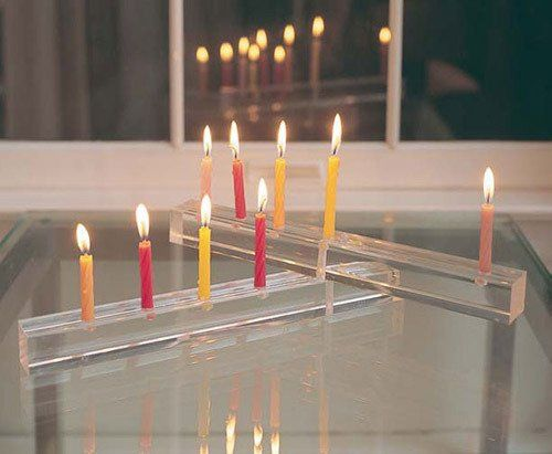 5 Clever DIY Menorahs