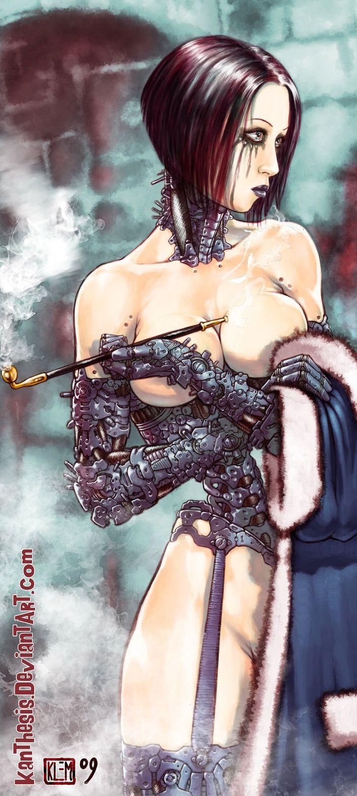 Cyborg Night Work Auteur : Kanthesis