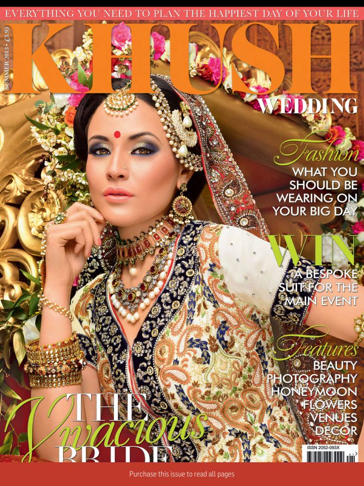 Best Khush Wedding Magazine Front Covers Images On Pinterest