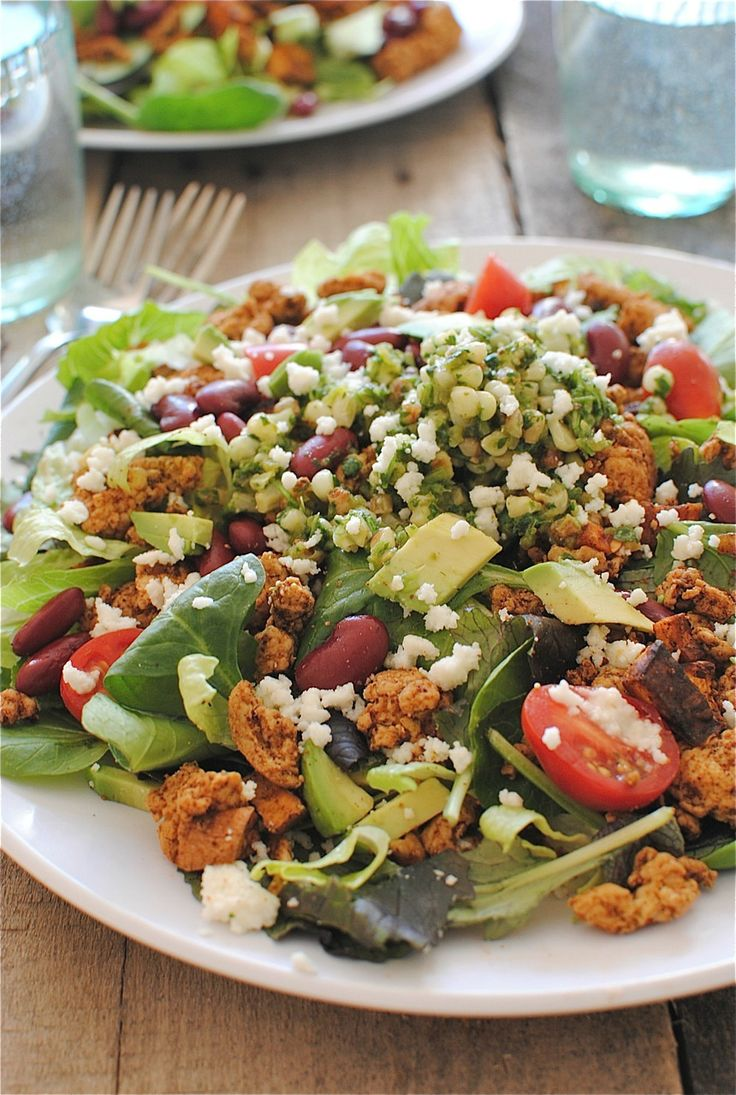 Loaded Turkey Taco Salad