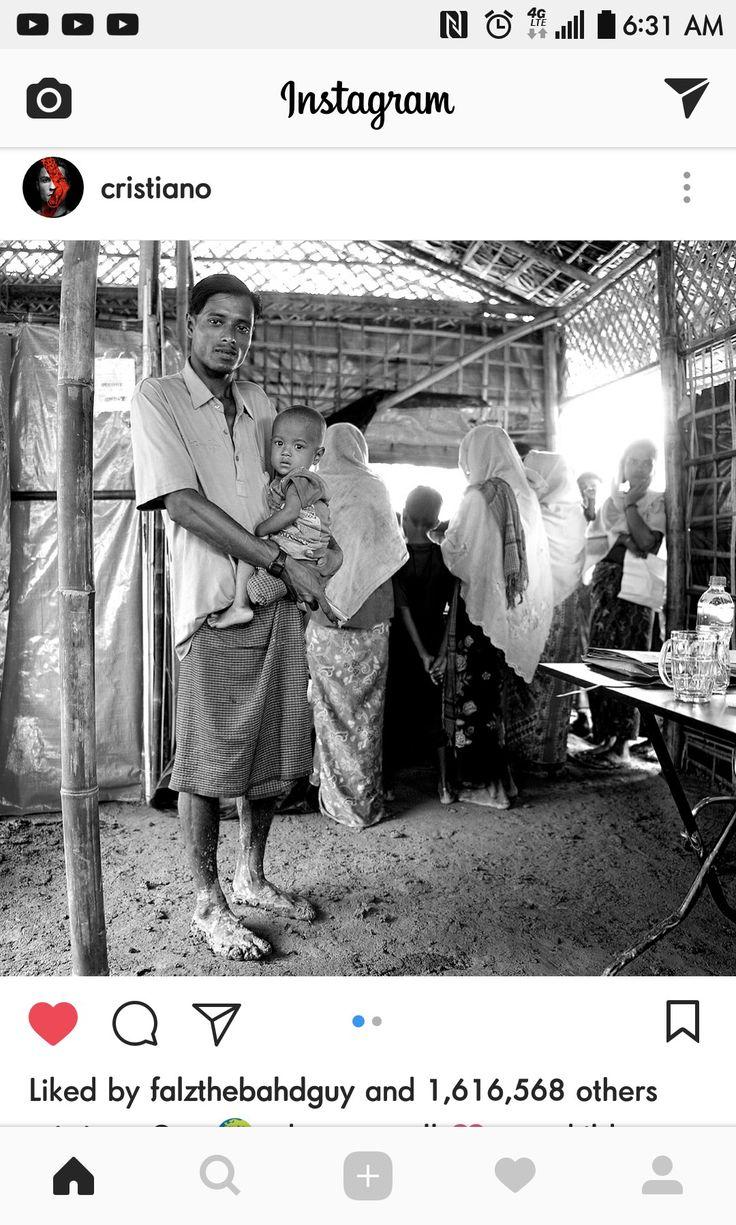Burma shame rohinga Instagram