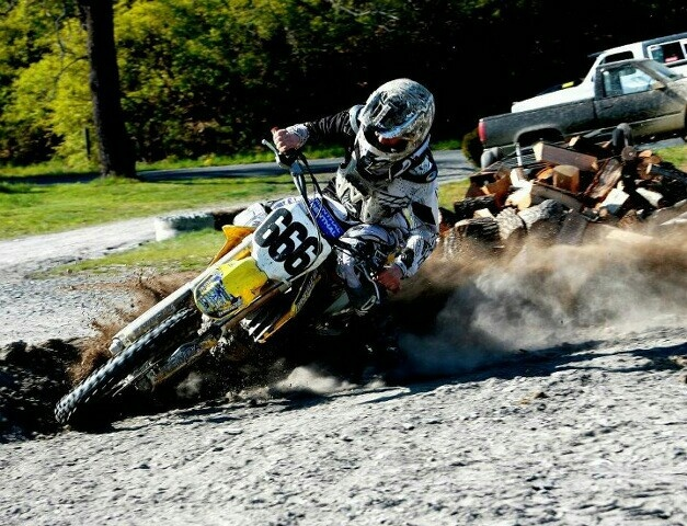 666 Spinning Dust On The Dirt Bike