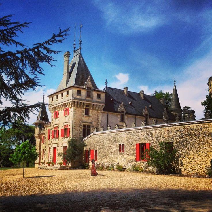 Le Château de Pressac, une des grandes propriétés de Saint-Emilion